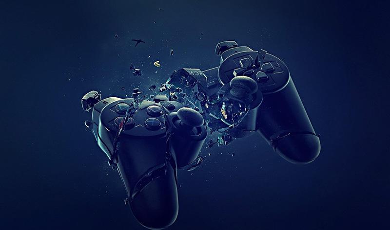 Broken Gaming Controller