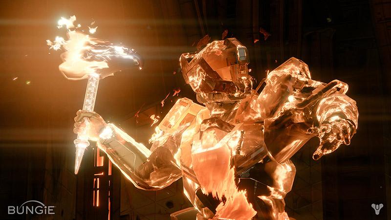 Destiny's Sunbreaker Class from Bungie
