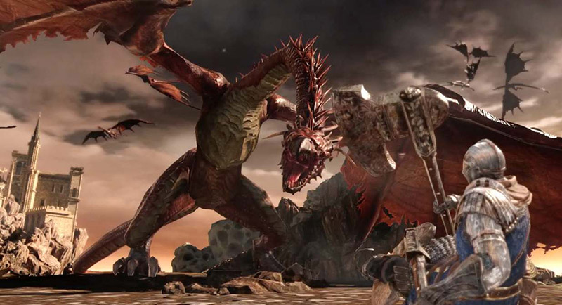 Dark Souls and Dragons