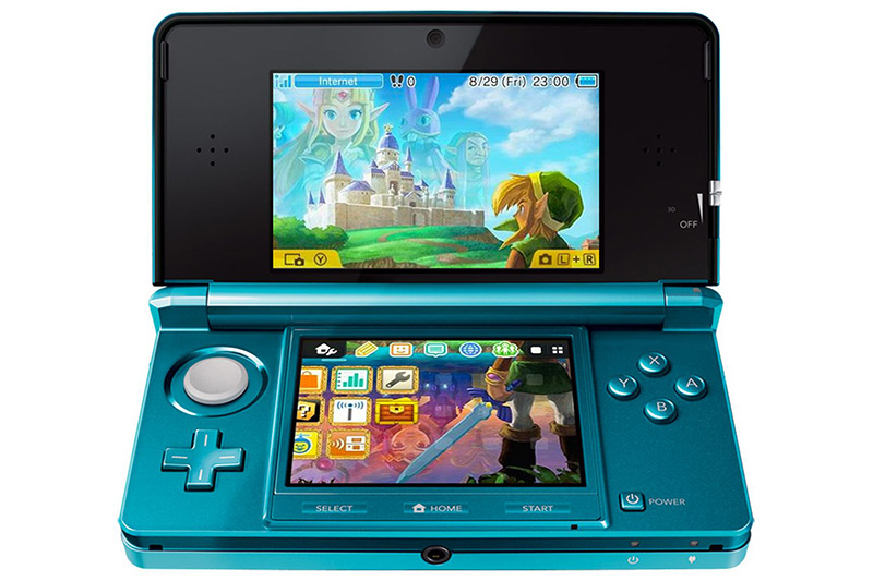Nintendo 3DS - Stereoscopic 3D Handheld Gaming Device