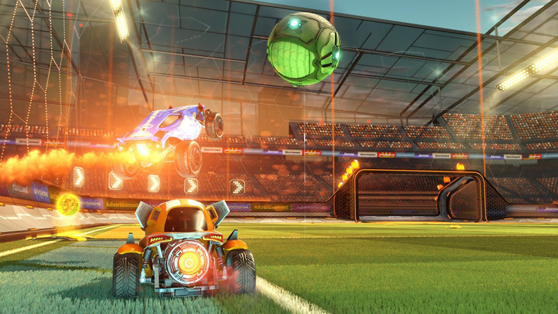Rocket League Boost in the Air