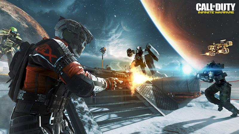Call of Duty Infinite Warfare in Space