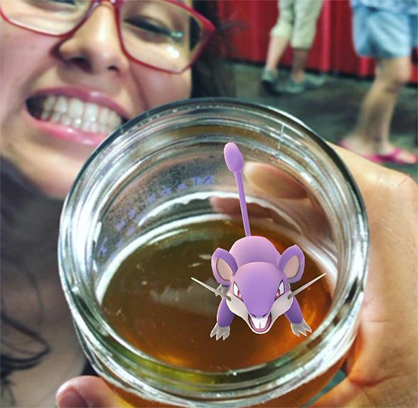 Pokemon in the Beer