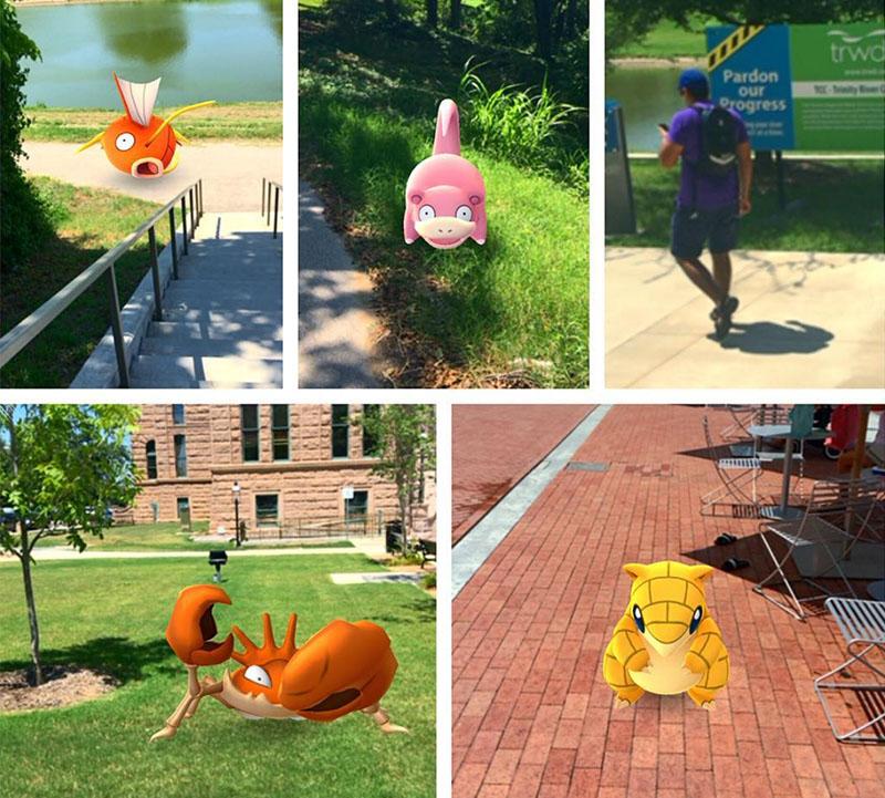 Austin Morales Adventuring in Fort Worth in Pokemon GO