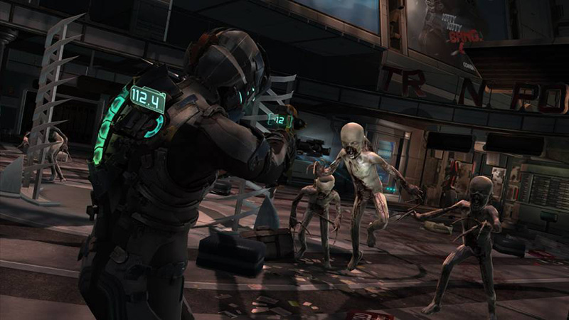 Dead Space User Interface Design
