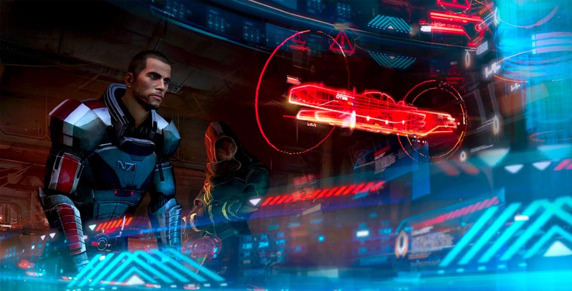Mass Effect 3 User Interface Design