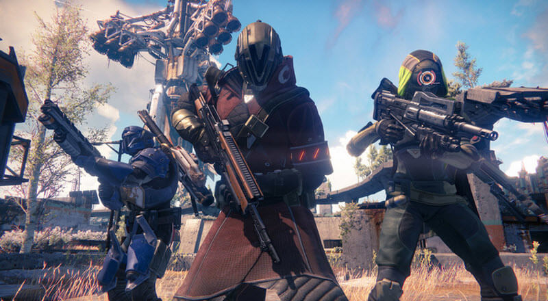 Destiny Cooperative Gameplay
