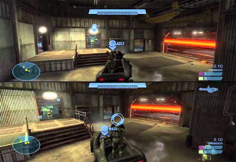 Halo Split Screen Multiplayer