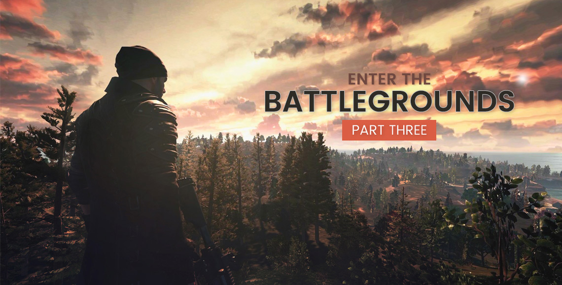 Enter the Battlegrounds - Experience Driven Narratives