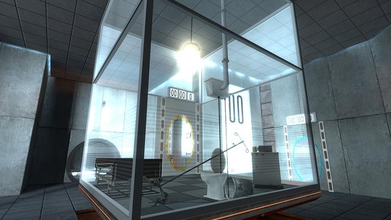 Portal Test Lab by Aperture Studios