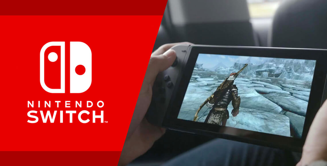 The Nintendo Switch Home/Handheld Gaming Console