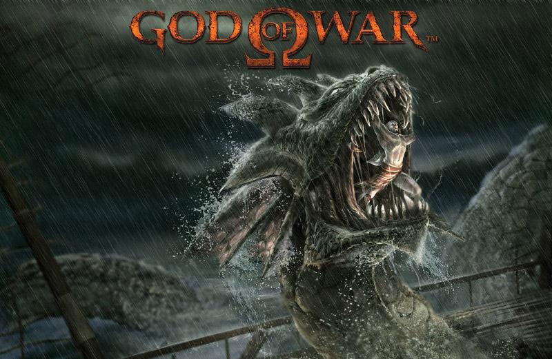 God of War Dragon on Playstation 2