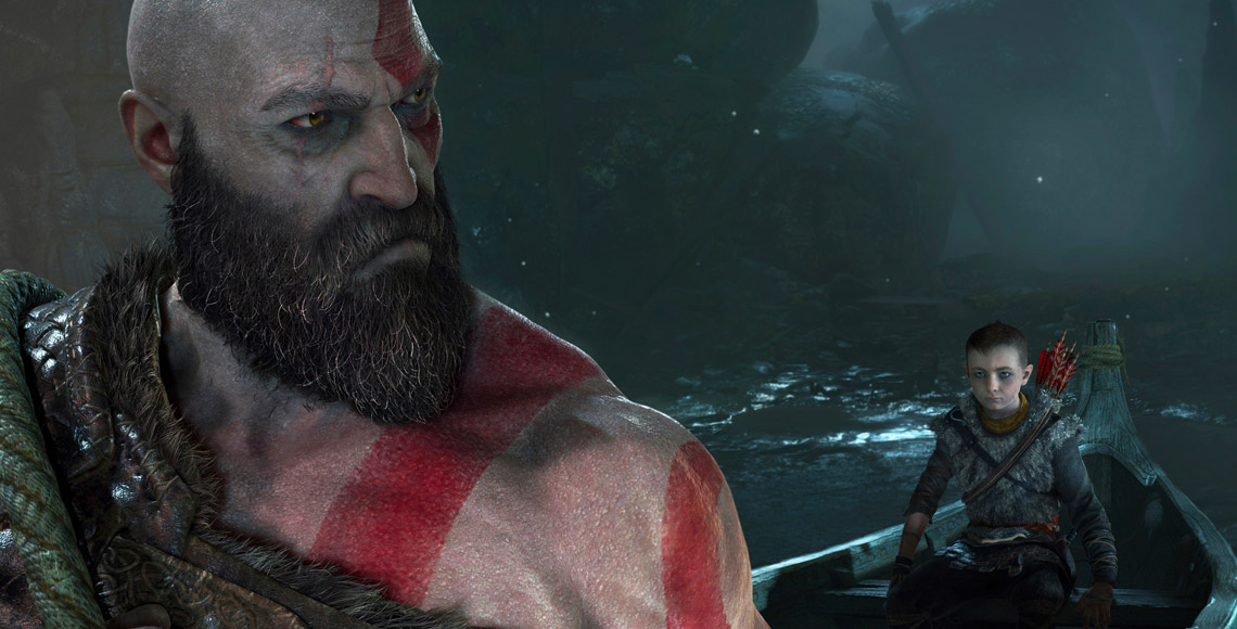 Kratos is a Father in God of War 2018 by Santa Monica Studio