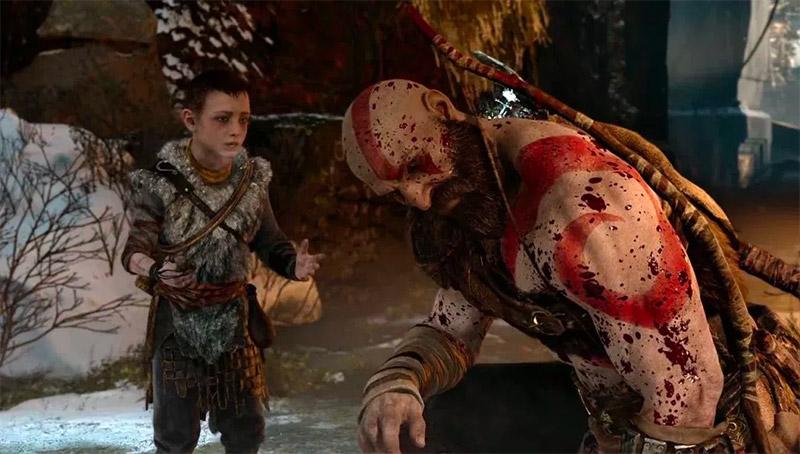 Kratos Son in God of War 2018 by Santa Monica Studio