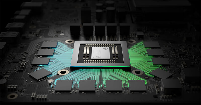 Microsoft Project Scorpio with 4k Gaming