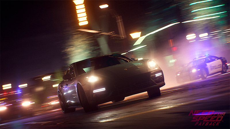 Need for Speed Payback with Cop Chases