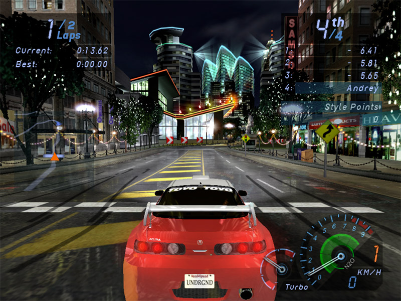 Need for Speed Underground by Electronic Arts