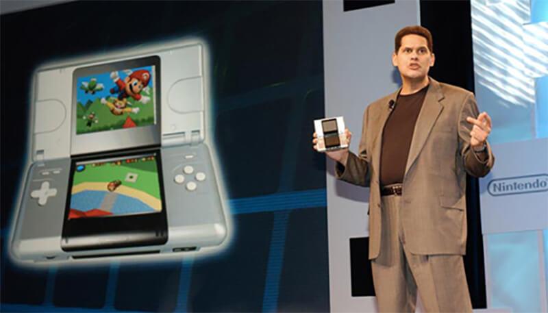 Reggie from Nintendo America