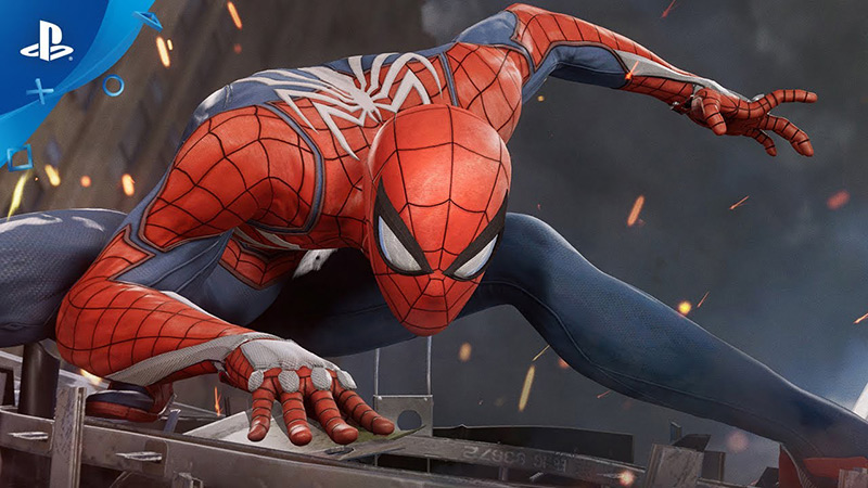 Spiderman for Playstation 4