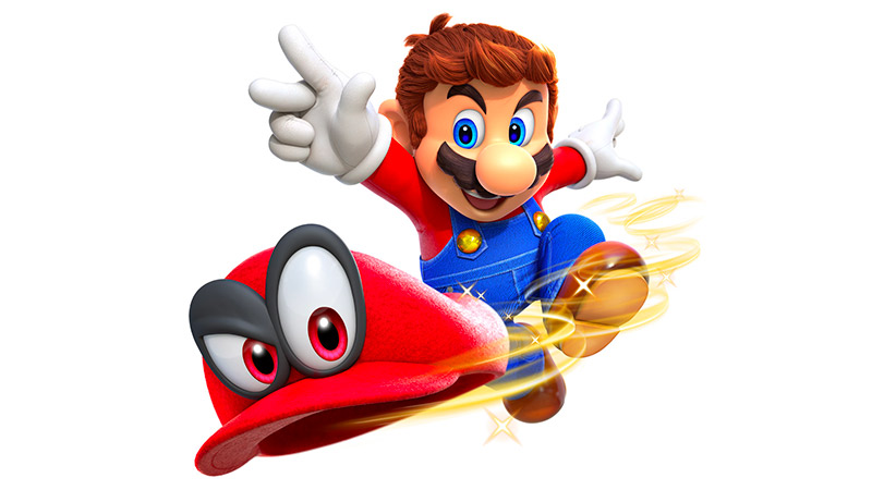 Super Mario Odyssey for the Nintendo Switch in October of 2017
