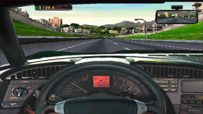 The Need for Speed from Electronic Arts in 1994 on 3DO