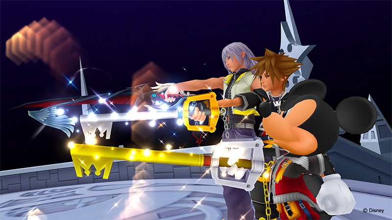 Kingdom Hearts and the Keyblade from Playstation 2