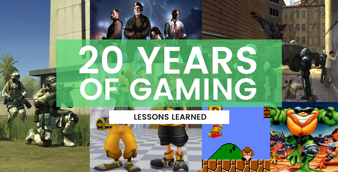 Lessons Learned from 20 Years of Playing Video Games
