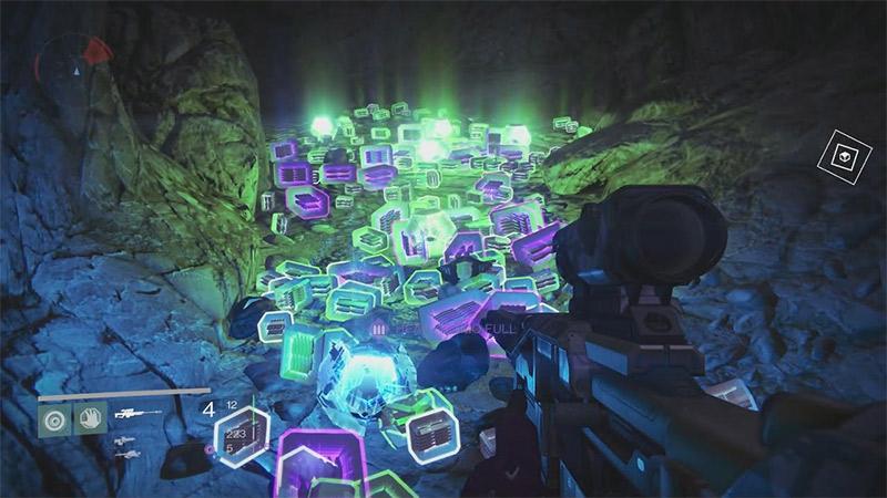 Loot Engrams in Destiny 1 by Bungie