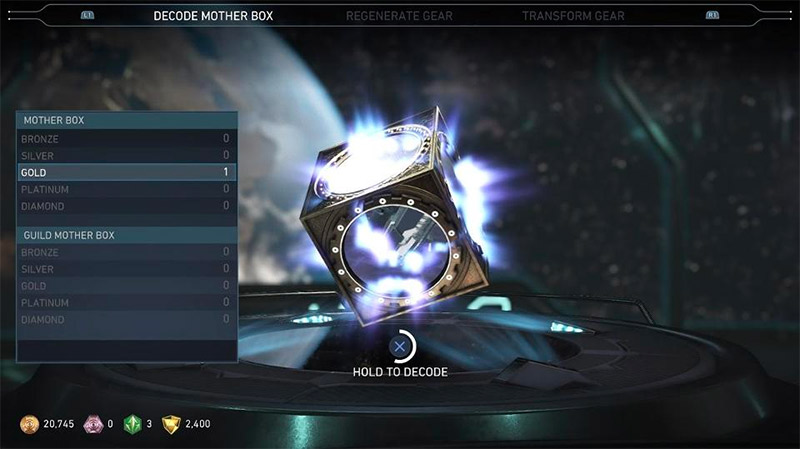 Mother Boxes in Injustice 2