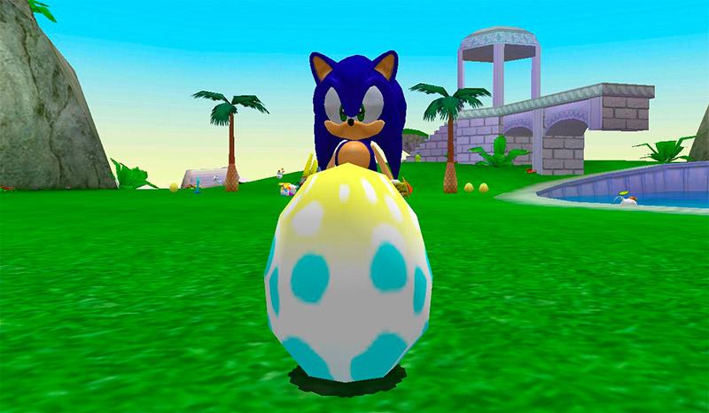 Eggs in Sonic Adventures