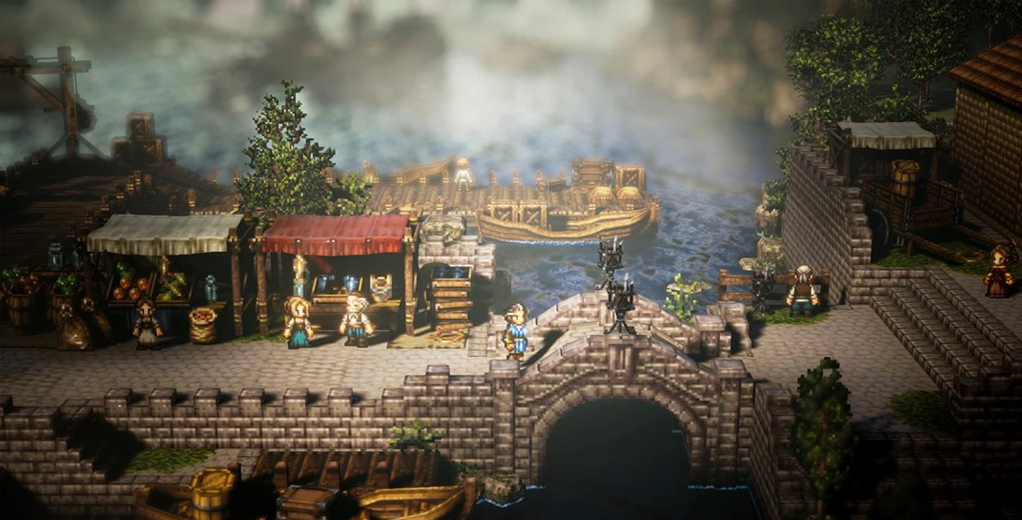 Project Octopath Traveler by Square Enix