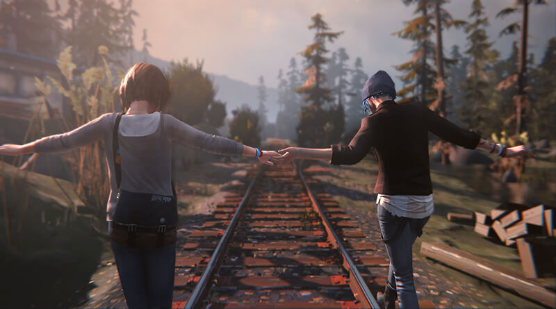 Max and Chloe in Life is Strange by Dontnod Entertainment
