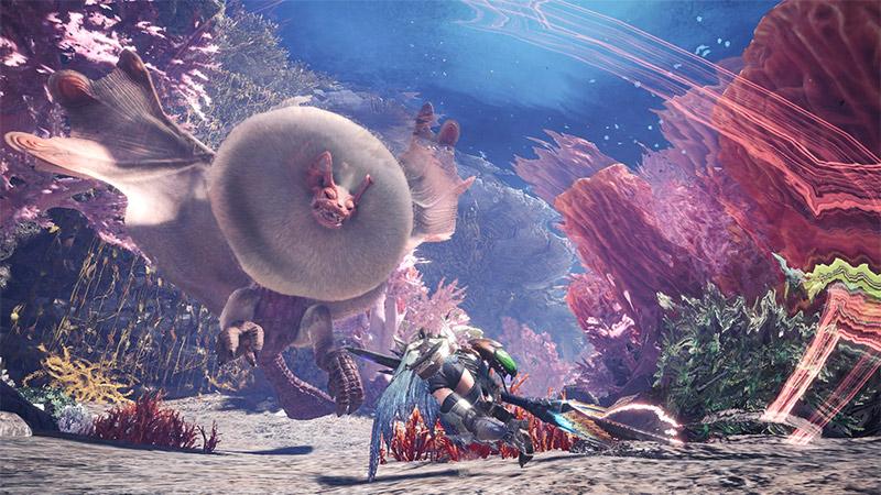 Coral Highlands Map in Monster Hunter World