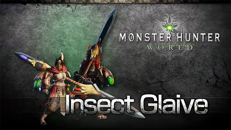 Insect Glaive in Monster Hunter World by Capcom