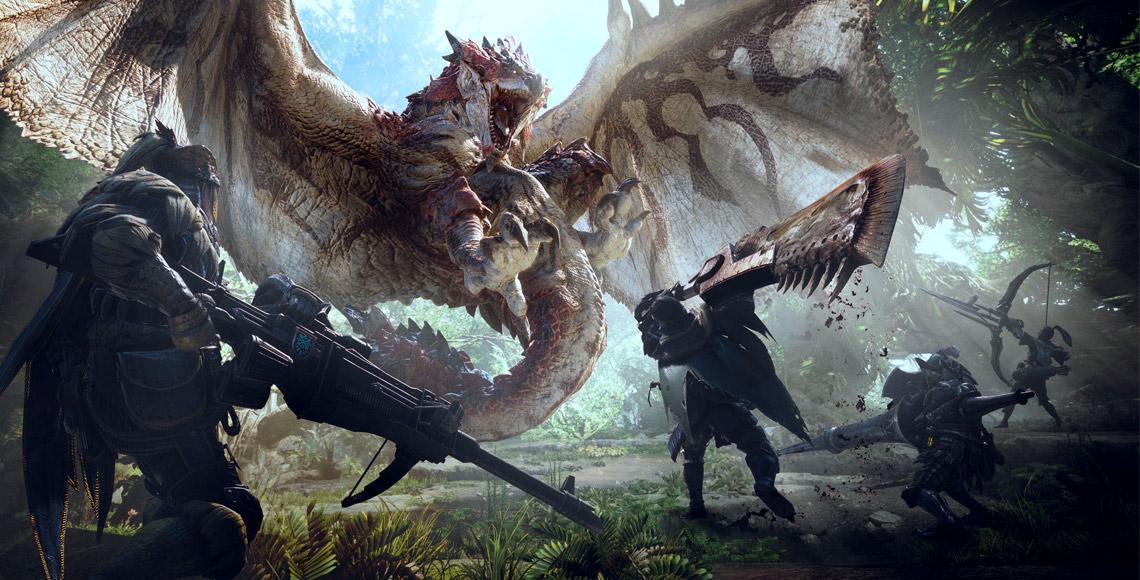Monster Hunter World Rathalos Dragon