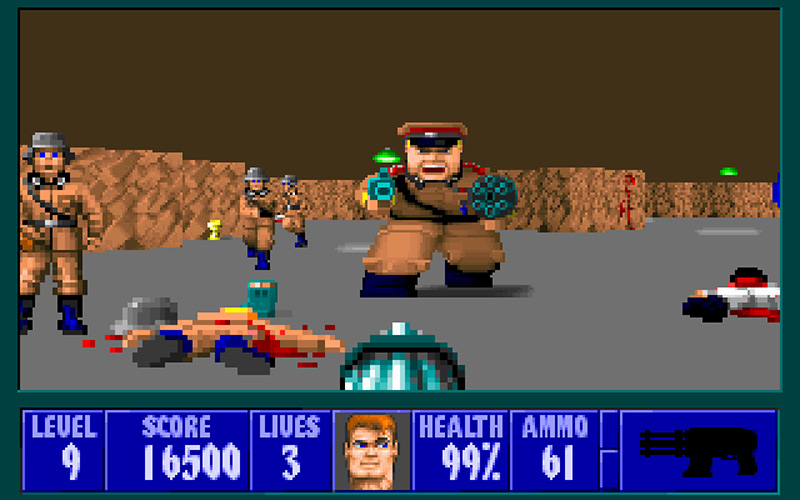 Wolfenstein 3D on the PC