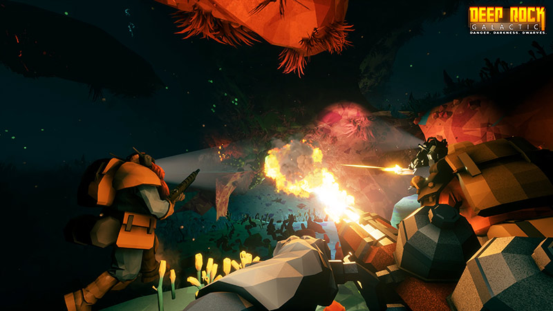 Burn the Ants in Deep Rock Galactic by Ghost Ship Games