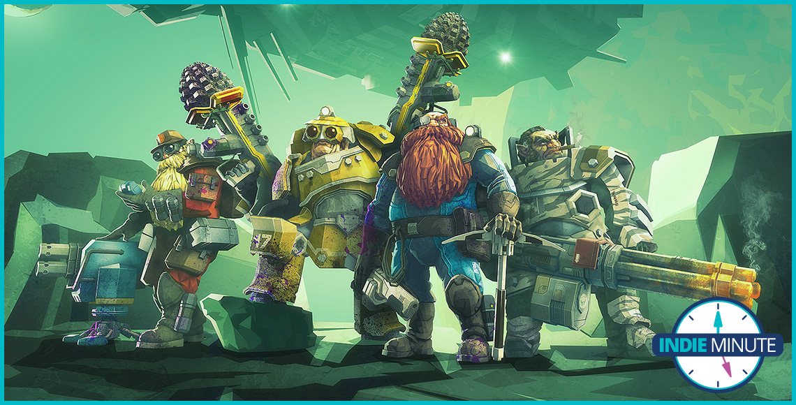 The Indie Minute: Deep Rock Galactic for PC and PS4