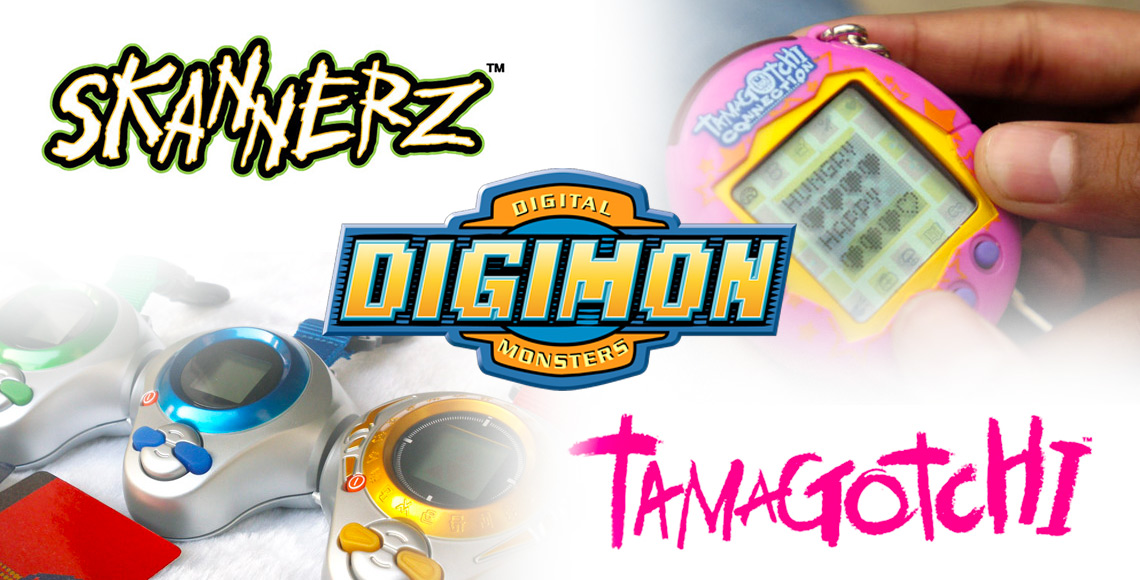 Skannerz, Digimon and Tamagotchi Toys