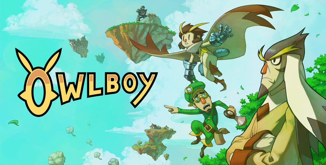 Owlboy Indie Game by D-Pad Studios